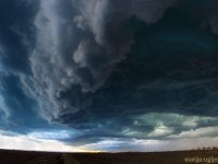 Shelf cloud v Srbsku