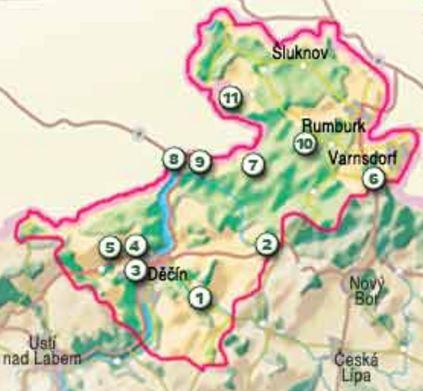 Luzicke Hory Mapa Kct C 14 Knihynahory Cz