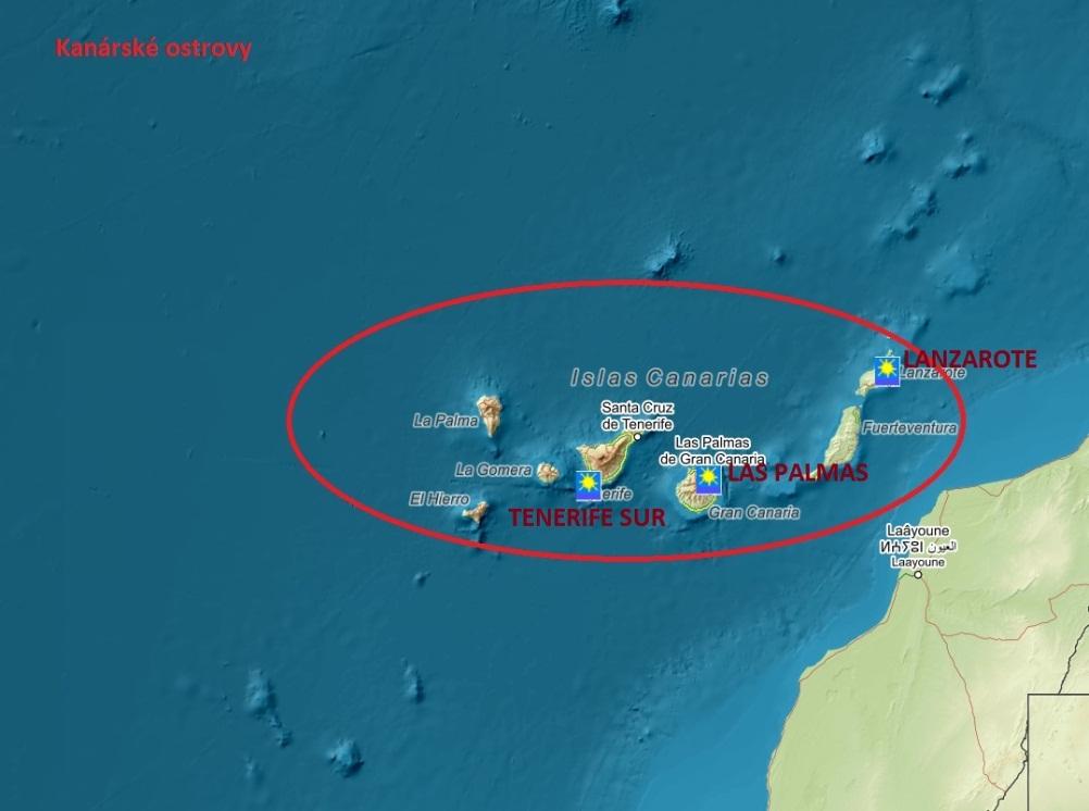 Pocasi Kanarske Ostrovy Las Palmas Pocasicz Cz